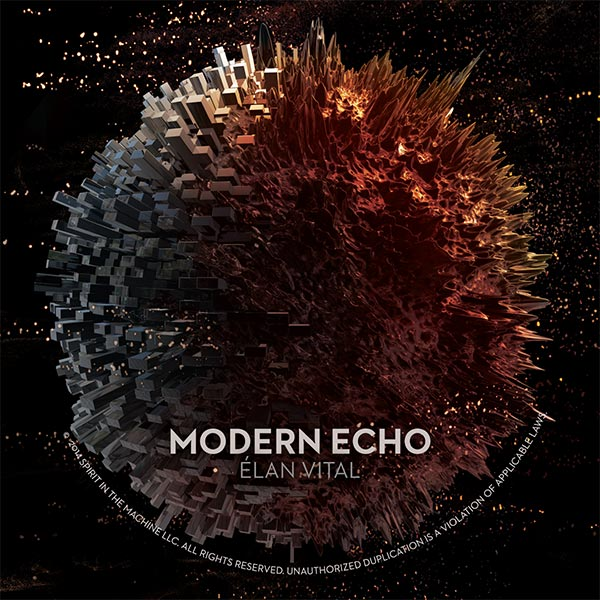 Modern Echo Elan Vital Album Art